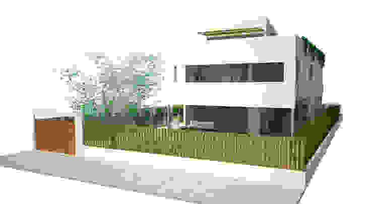 Main façade Modern Houses by FG ARQUITECTES Modern