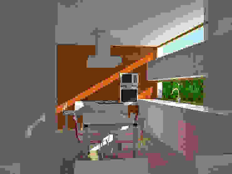 Cocina Cocinas de estilo moderno de FG ARQUITECTES Moderno