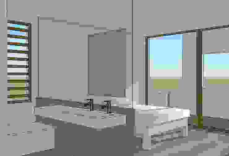 Habitación doble Dormitorios de estilo moderno de FG ARQUITECTES Moderno