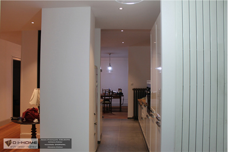 Maison de ville à Strasbourg Cuisine moderne par Agence ADI-HOME Moderne