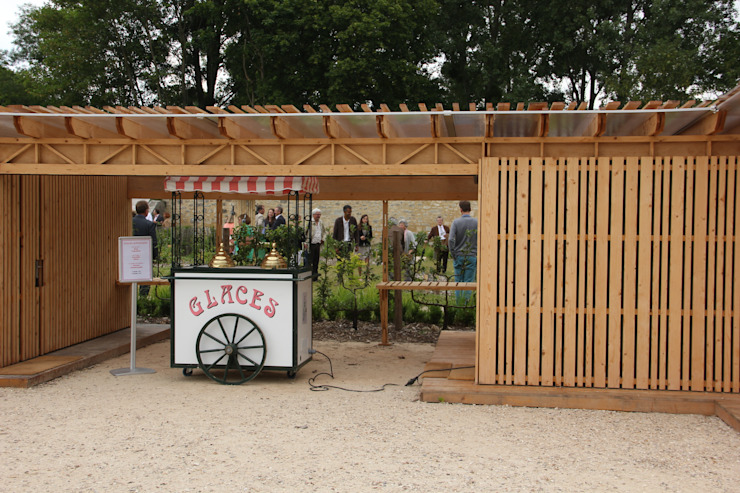 Inauguration du potager Jardin Jardin moderne par Adrien Beretti Moderne
