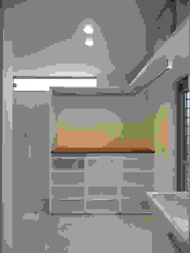 洗面脱衣室 オリジナルスタイルの お風呂 の ai建築アトリエ オリジナル