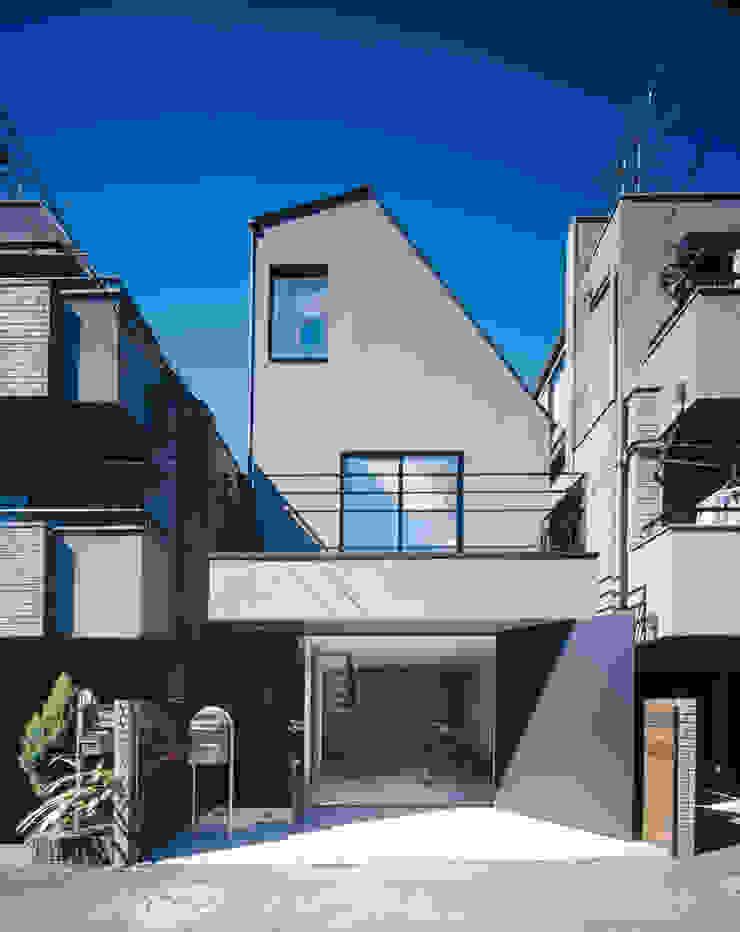 外観 ミニマルな 家 の 高橋直子建築設計事務所 ミニマル