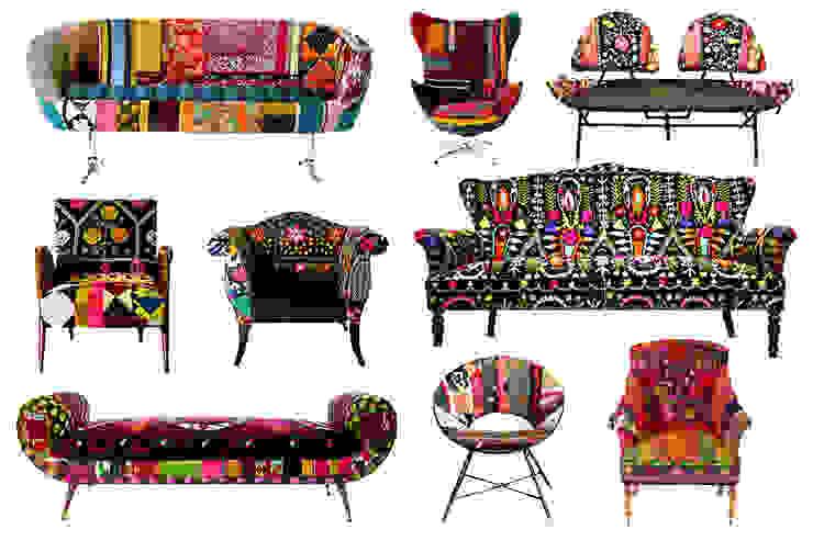 Living room by 5EL DEKORASYON VE MİMARLIK - CHIC TOWN DECO BEBEK,