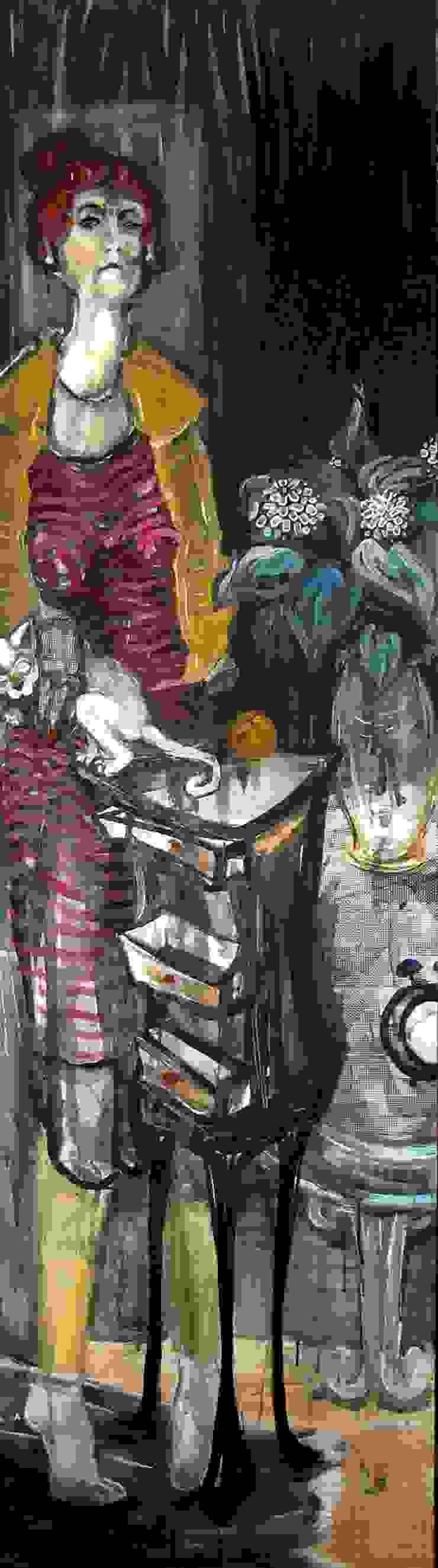 1 Sanat Art Management ve Müzayedecilik – SABA BAKİ: modern tarz , Modern