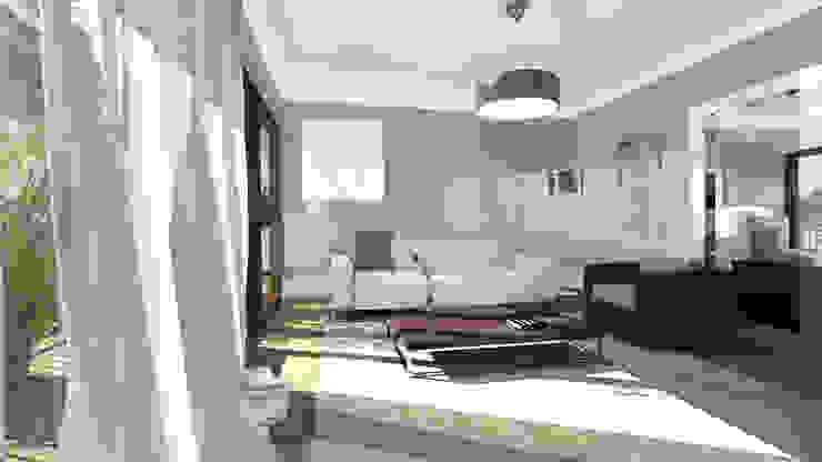 Architecture d'intérieur - Appartement Bordeaux, France Salon moderne par Sandra Hisbèque Moderne