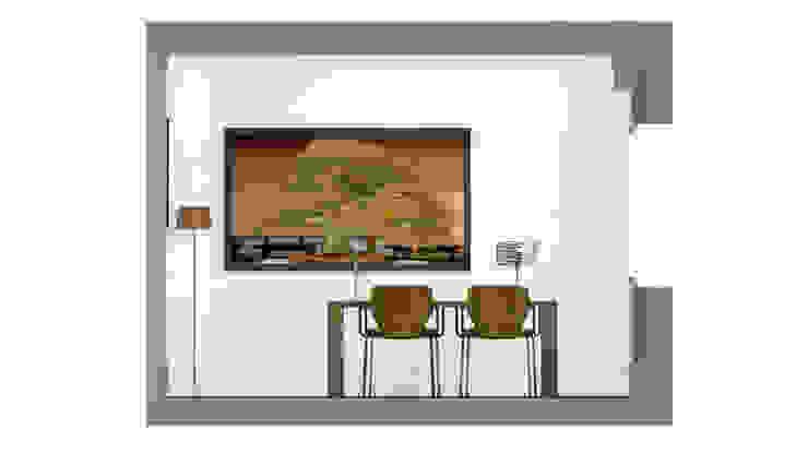 Architecture d'intérieur - Appartement Bordeaux, France Salle à manger moderne par Sandra Hisbèque Moderne