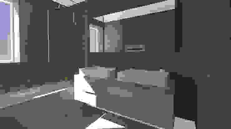 Architecture d'intérieur - Appartement Bordeaux, France Salle de bain moderne par Sandra Hisbèque Moderne