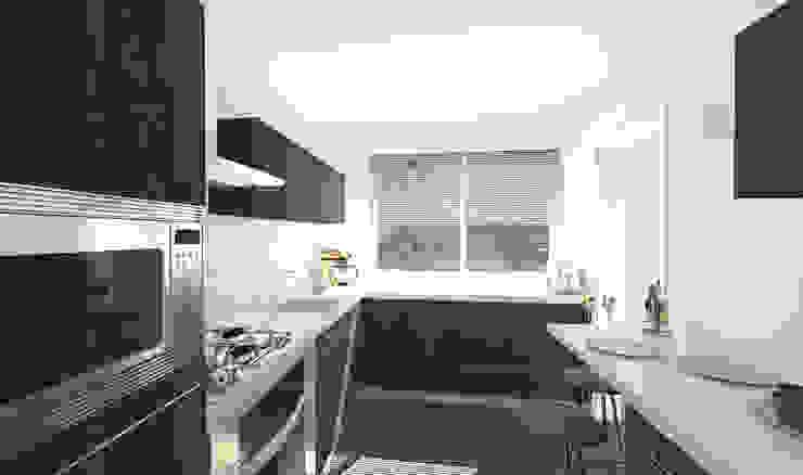 Architecture d'intérieur - Appartement Bordeaux, France Cuisine moderne par Sandra Hisbèque Moderne