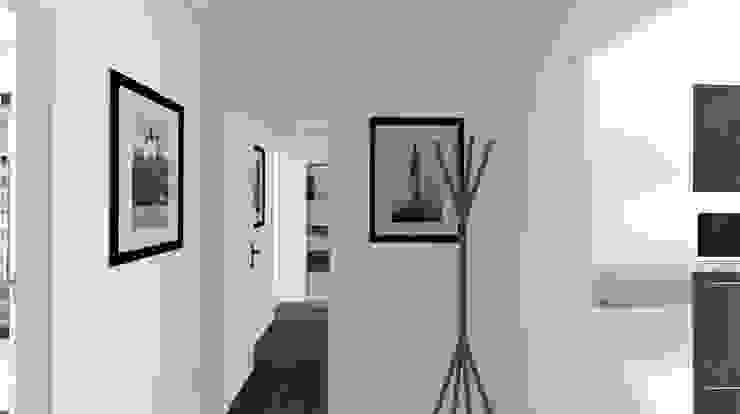 Architecture d'intérieur - Appartement Bordeaux, France Couloir, entrée, escaliers modernes par Sandra Hisbèque Moderne