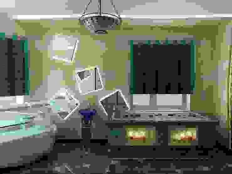 Массажный кабинет в Спа - Салоне Спа в азиатском стиле от Цунёв_Дизайн. Студия интерьерных решений. Азиатский