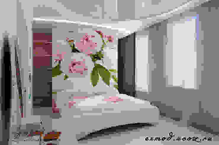 Dormitorios de estilo  por Цунёв_Дизайн. Студия интерьерных решений.,