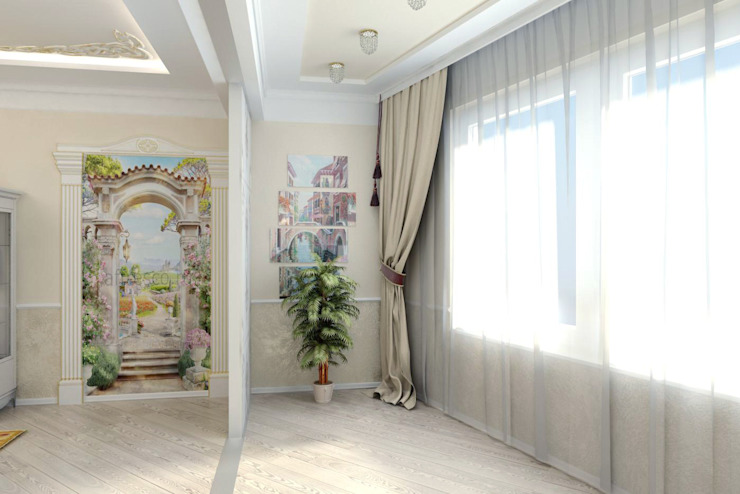 Гостиная в классическом стиле Гостиная в классическом стиле от Цунёв_Дизайн. Студия интерьерных решений. Классический