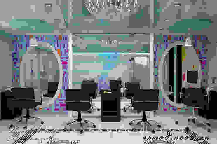 Салон красоты. Парикмахерская Цунёв_Дизайн. Студия интерьерных решений. Спа в стиле модерн
