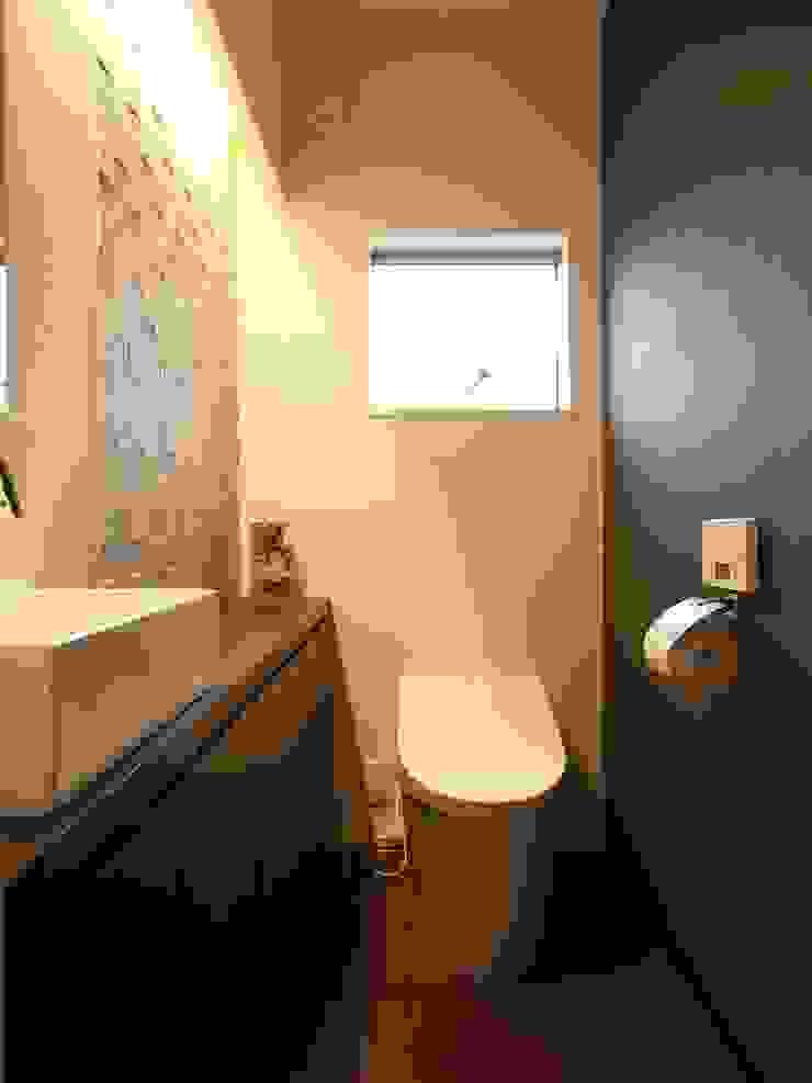 トイレ オリジナルスタイルの お風呂 の ai建築アトリエ オリジナル