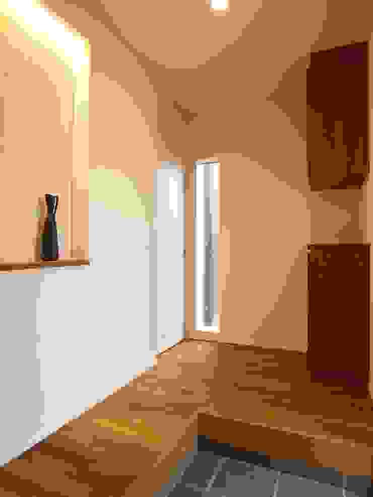 玄関ホール オリジナルスタイルの 玄関&廊下&階段 の ai建築アトリエ オリジナル