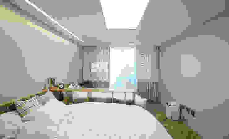 경기도 과천시 원문동 삼성래미안 슈르아파트 50평형 아시아스타일 아이방 by MID 먹줄 한옥