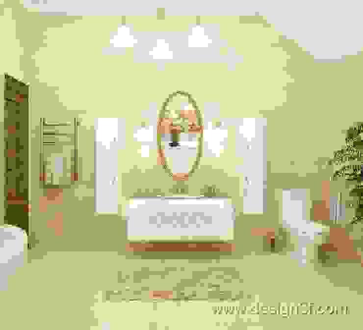 Badezimmer von студия Design3F,