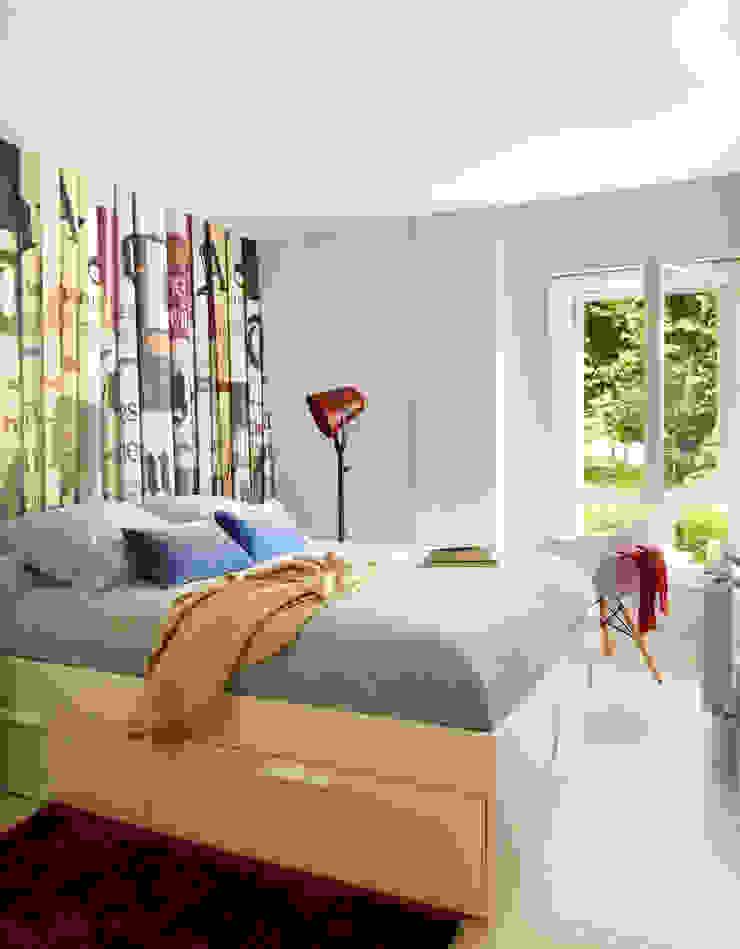 COLLADO MEDIANO Dormitorios de estilo moderno de ESTER SANCHEZ LASTRA Moderno