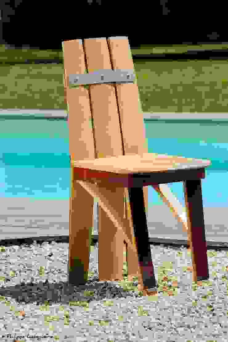 Chaise, la C par Jerôme Bouteille Éclectique