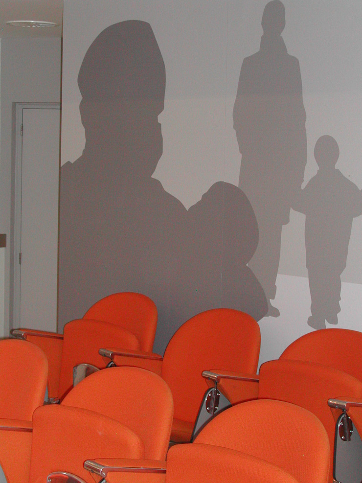 Detalle Palacios de congresos de estilo moderno de ESTER SANCHEZ LASTRA Moderno