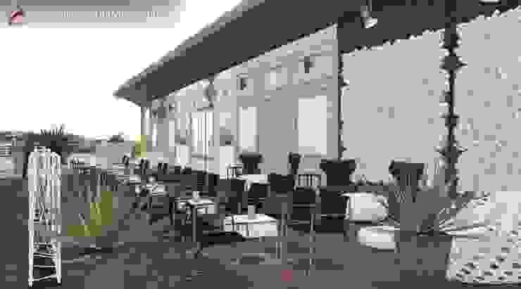 Bakara Balcones y terrazas de estilo asiático de GL!LabDesign Asiático