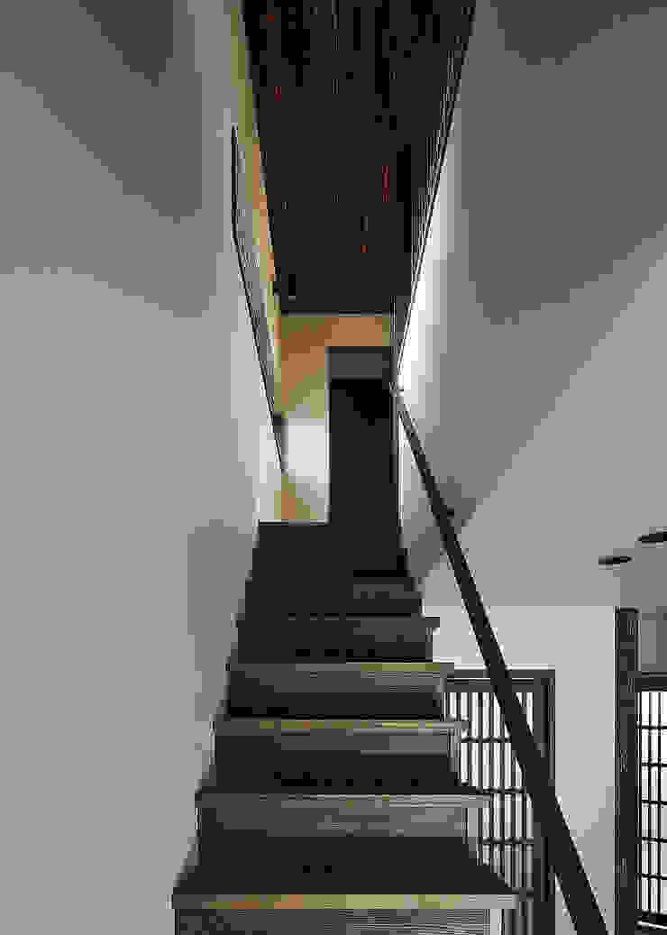 野間の家 オリジナルスタイルの 玄関&廊下&階段 の 傳寶慶子建築研究所 オリジナル