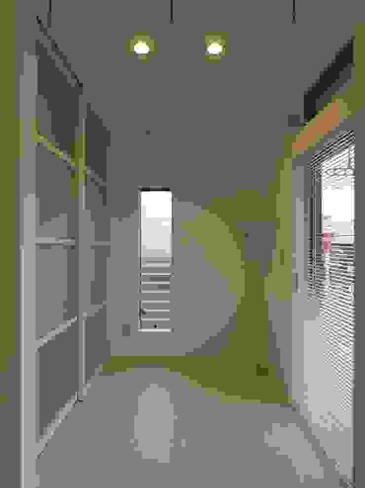 ランドリールーム ai建築アトリエ オリジナルスタイルの お風呂