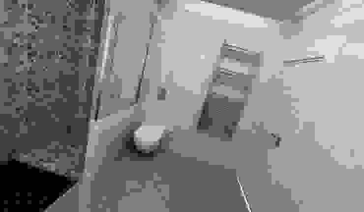 E.K. EVİ Modern Banyo Niyazi Özçakar İç Mimarlık Modern