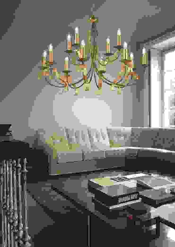 Highlight Aydınlatma Modern Living Room