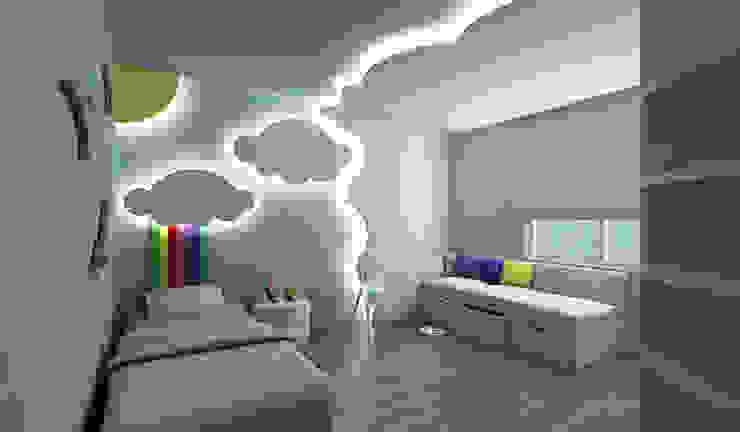 Niyazi Özçakar İç Mimarlık – E.K. EVİ:  tarz Çocuk Odası, Modern