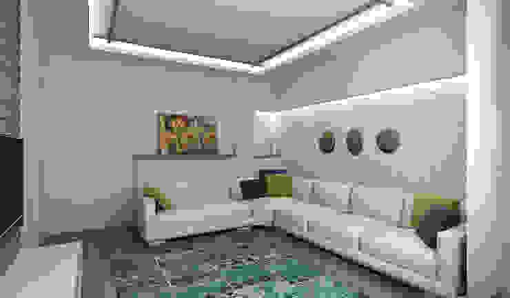 E.K. EVİ Niyazi Özçakar İç Mimarlık Modern Oturma Odası