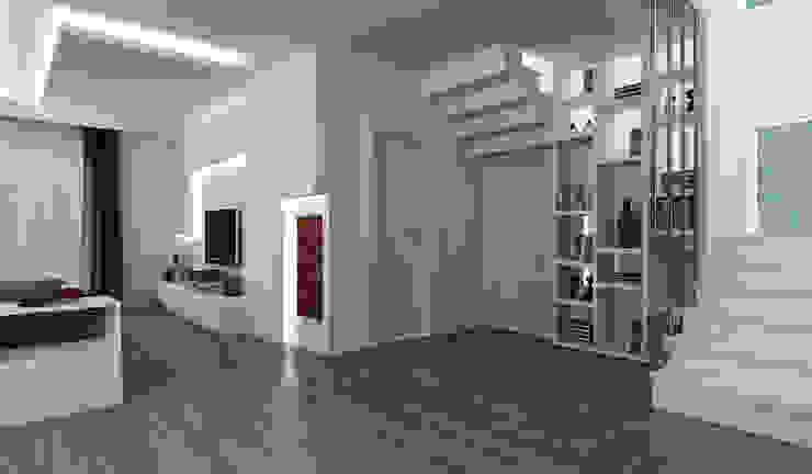 الممر الحديث، المدخل و الدرج من Niyazi Özçakar İç Mimarlık حداثي