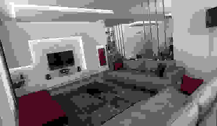 모던스타일 거실 by Niyazi Özçakar İç Mimarlık 모던