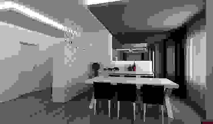 E.K. EVİ Modern Yemek Odası Niyazi Özçakar İç Mimarlık Modern