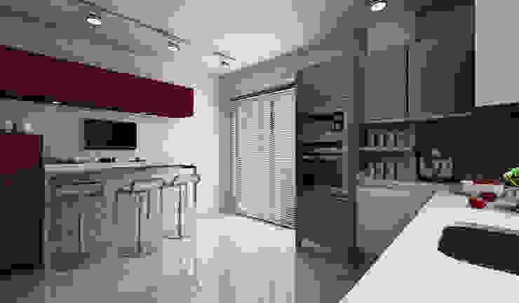 Cocinas modernas de Niyazi Özçakar İç Mimarlık Moderno