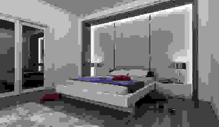 Niyazi Özçakar İç Mimarlık Camera da letto moderna