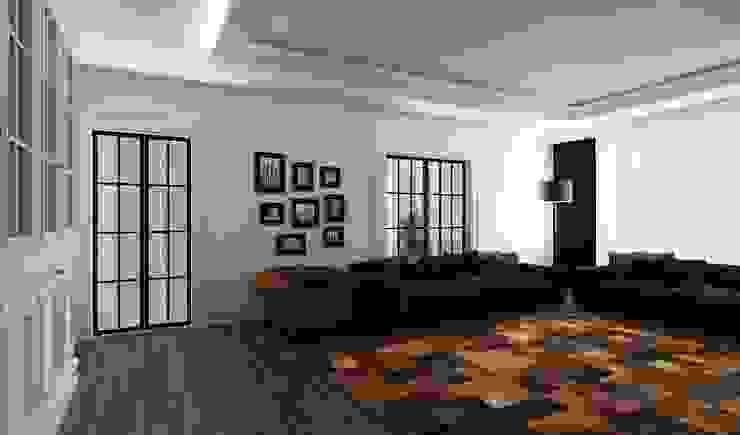 M.A. EVİ Eklektik Oturma Odası Niyazi Özçakar İç Mimarlık Eklektik