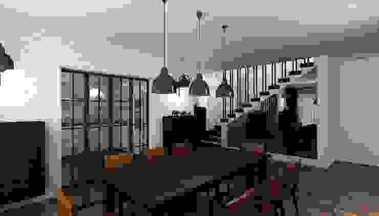 Niyazi Özçakar İç Mimarlık – M.A. EVİ:  tarz Yemek Odası,
