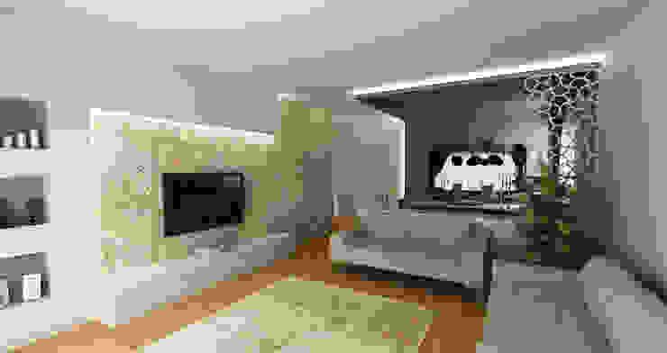 Salon moderne par Niyazi Özçakar İç Mimarlık Moderne