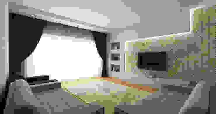 Salones de estilo moderno de Niyazi Özçakar İç Mimarlık Moderno