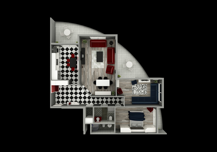 modern  by Niyazi Özçakar İç Mimarlık, Modern