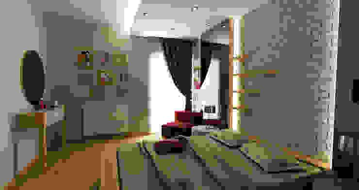 Dormitorios de estilo  de Niyazi Özçakar İç Mimarlık, Moderno