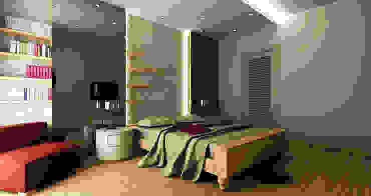 E.E. EVİ Modern Yatak Odası Niyazi Özçakar İç Mimarlık Modern