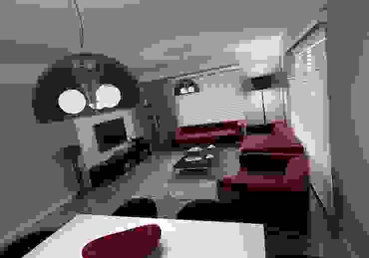 METROKENT BURSA Modern Oturma Odası Niyazi Özçakar İç Mimarlık Modern