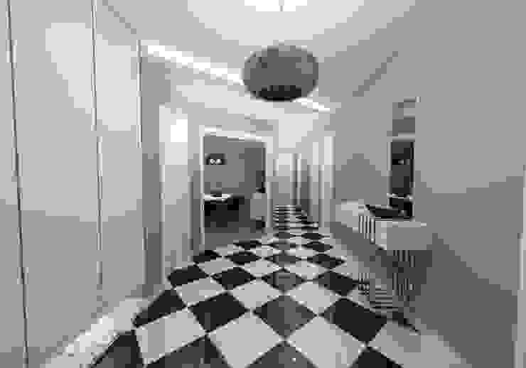 Couloir, entrée, escaliers modernes par Niyazi Özçakar İç Mimarlık Moderne