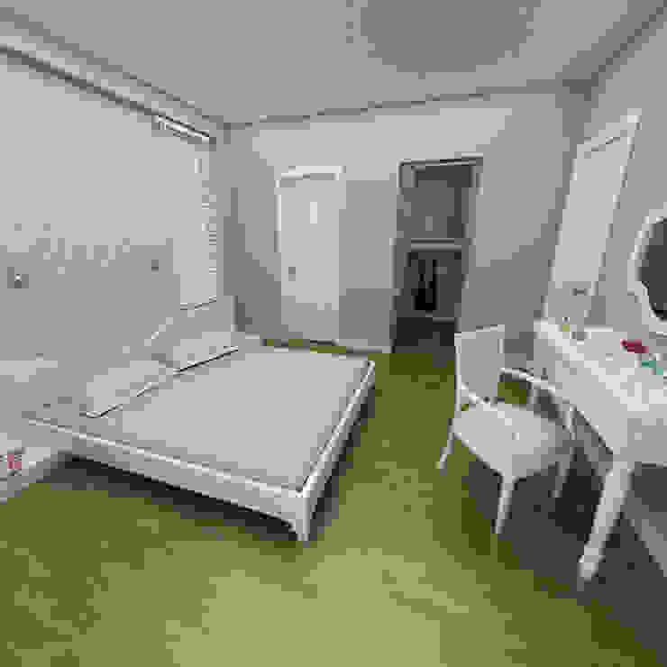Niyazi Özçakar İç Mimarlık – SANABEL KONAKLARI:  tarz Yatak Odası,