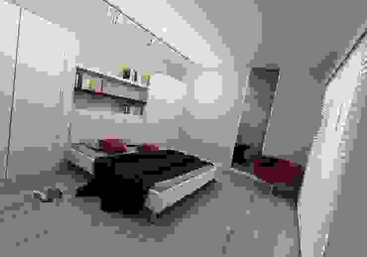 Niyazi Özçakar İç Mimarlık – METROKENT BURSA 3+1:  tarz Yatak Odası