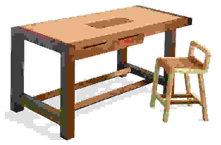 "Banco da cucina ""Falegname"" di SLOW WOOD - The Wood Expert Scandinavo"