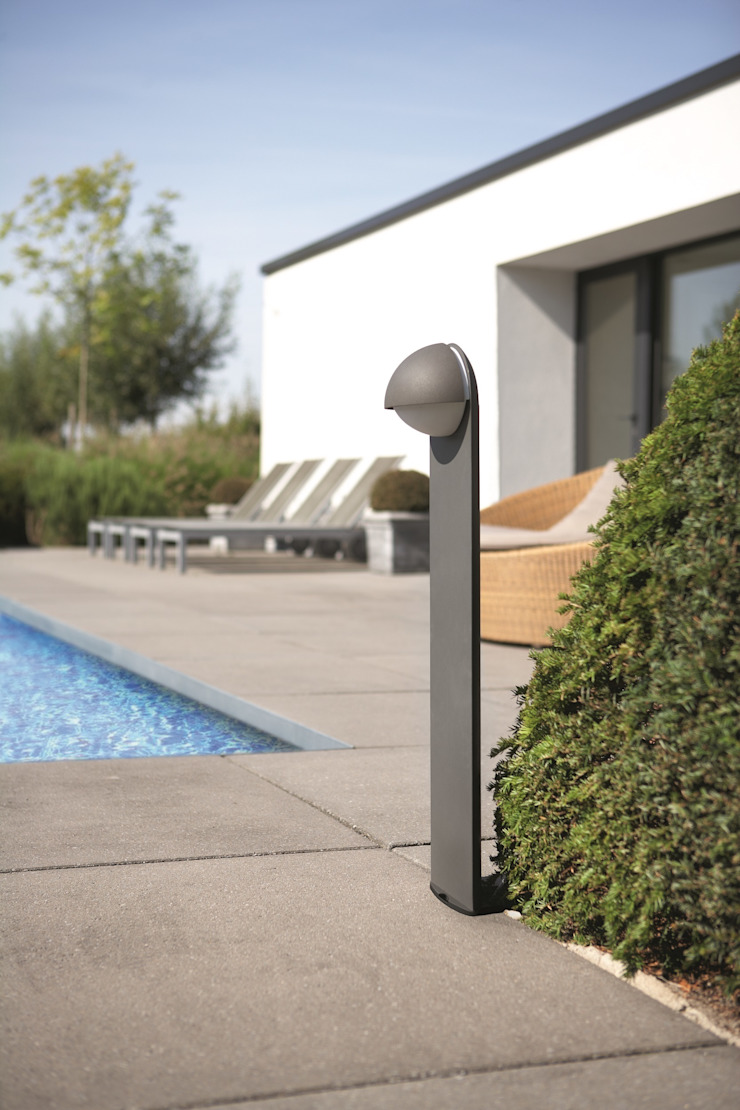 Modern pool by Highlight Aydınlatma Modern